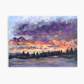 Sunrise Over Keoka Lake