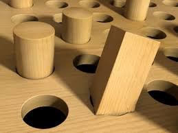 Square Peg Found in Round European Hole.