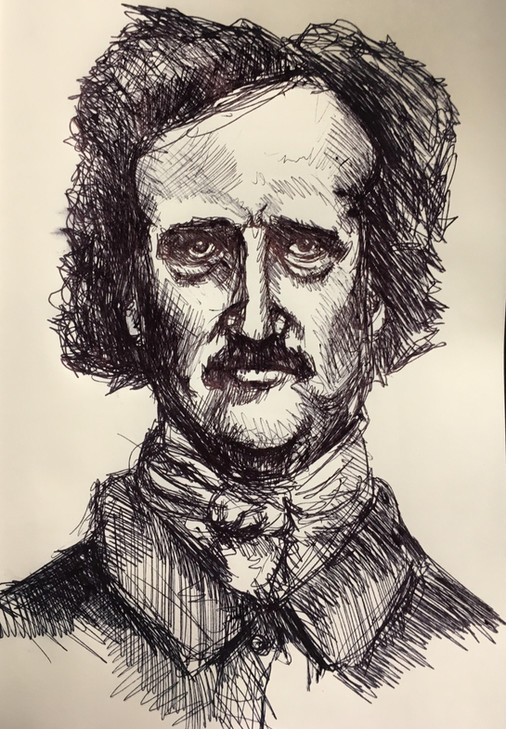 Edgar in Ink Study