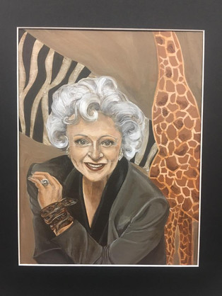 Betty White at the Zoo