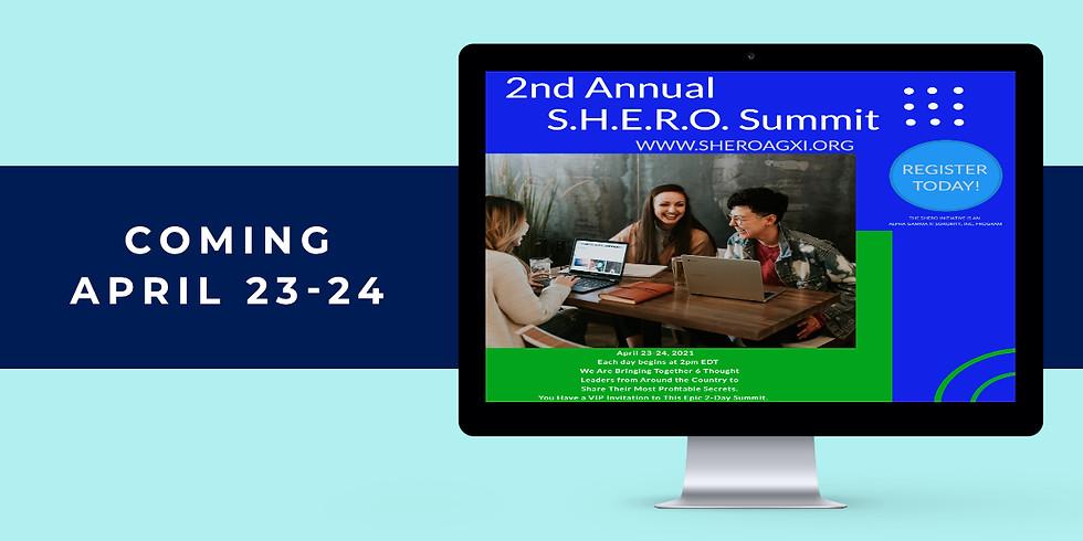 2021 S.H.E.R.O. Women's Virtual Summit