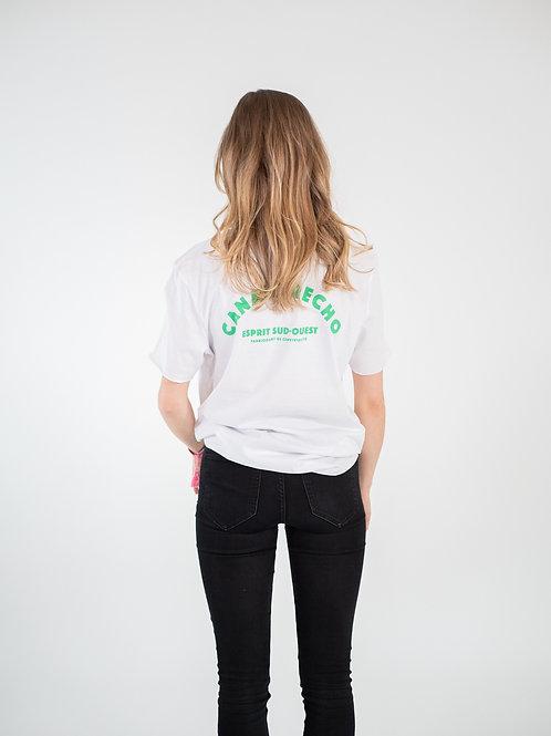 T-shirt sud-ouest - Blanc unisexe
