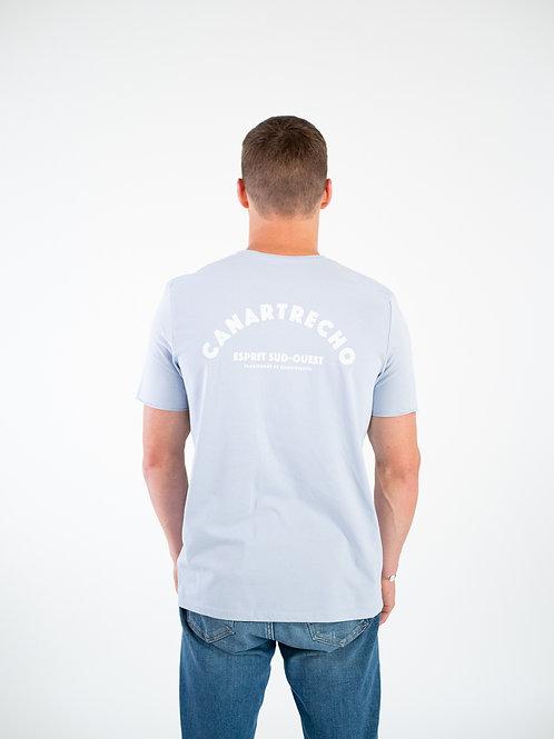 T-shirt sud-ouest - Bleu ciel
