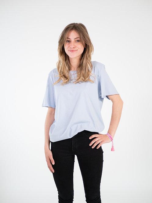 T-shirt sud-ouest - Bleu ciel unisexe