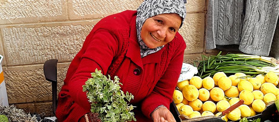 Um Nabil, the Queen of herbs.