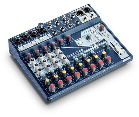 SOUNDCRAFT | CONSOLA NOTEPAD12