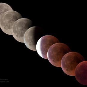 Mondfinsternis und Marsopposition vom 27. Juli 2018 im Havelland