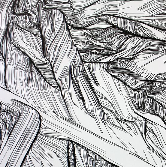 Iona Drawings (columns) detail
