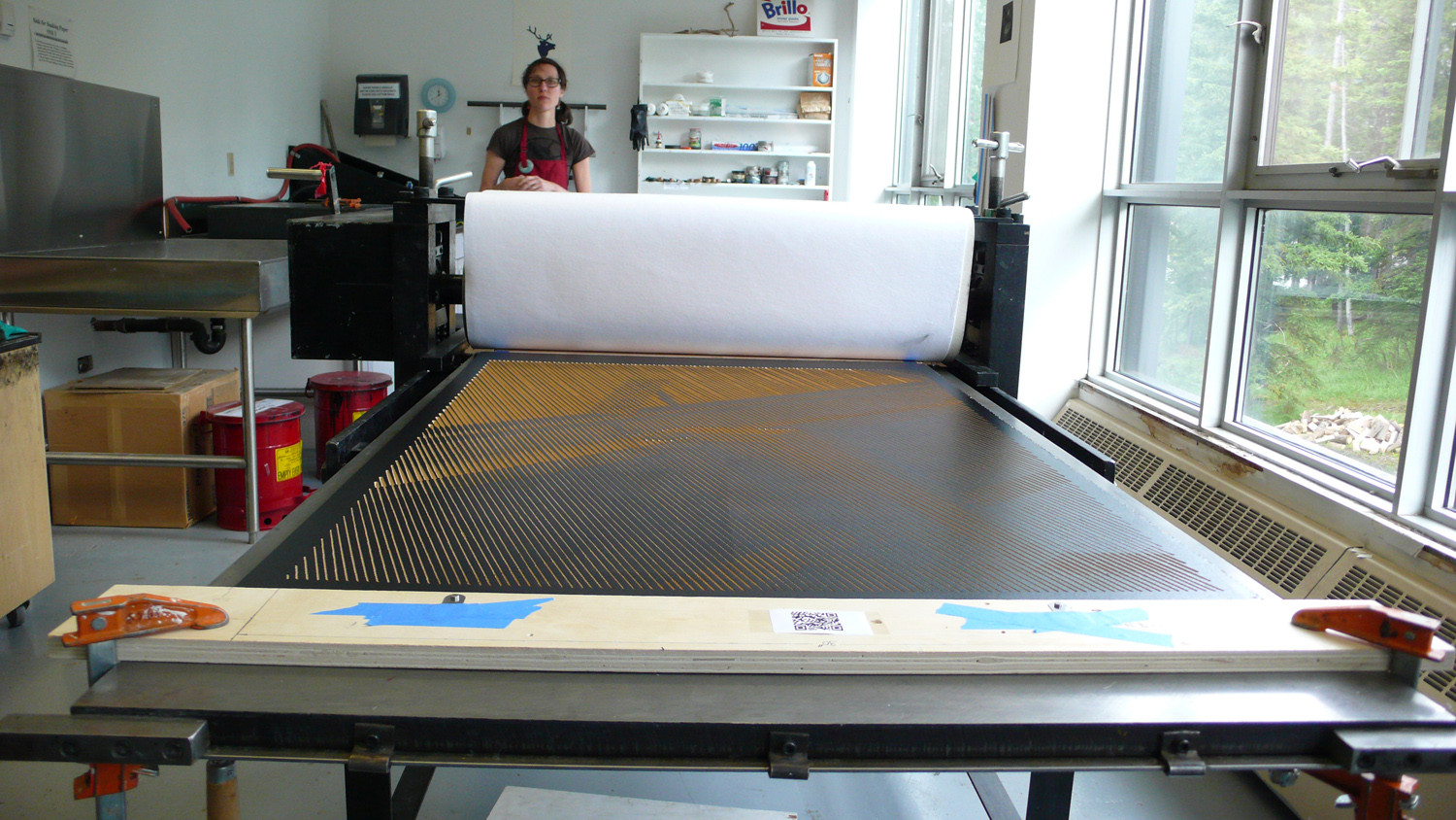 Printing at the Banff Centre
