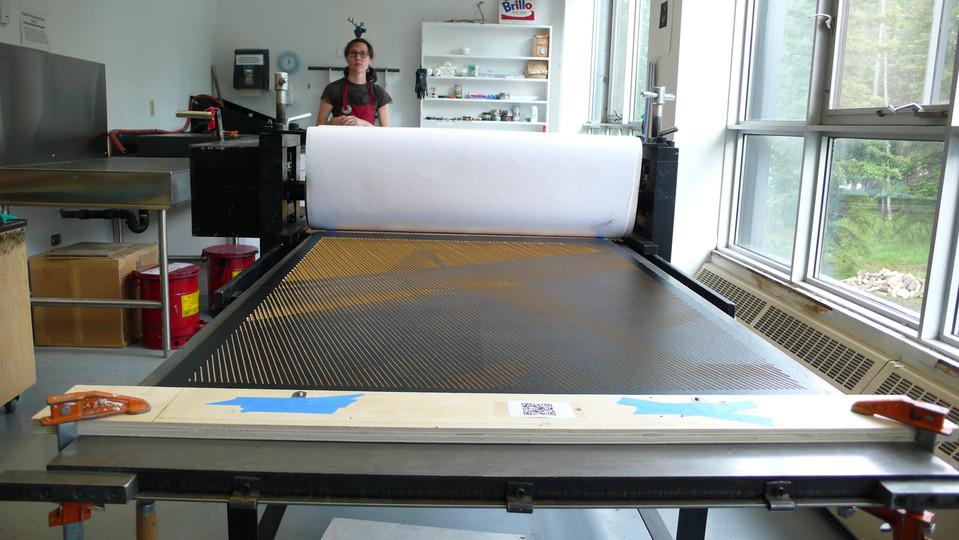Printing at the Banff Centre