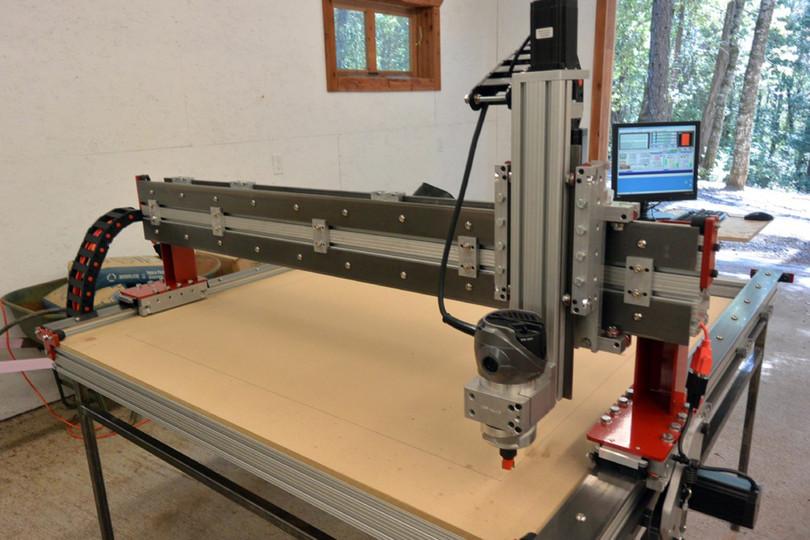 Our CNC machine