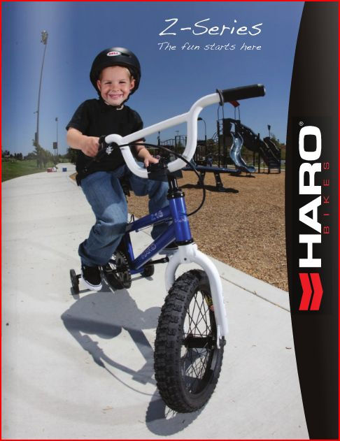 Haro BMX for Kids Catalog