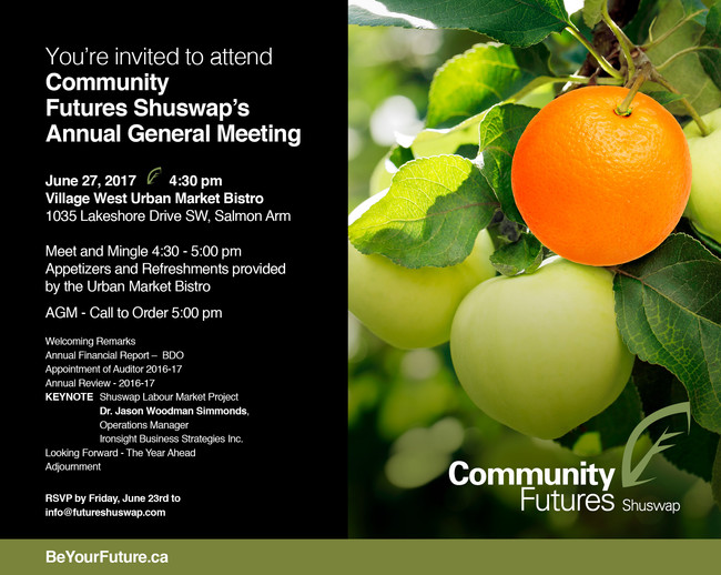 You're Invited to our AGM