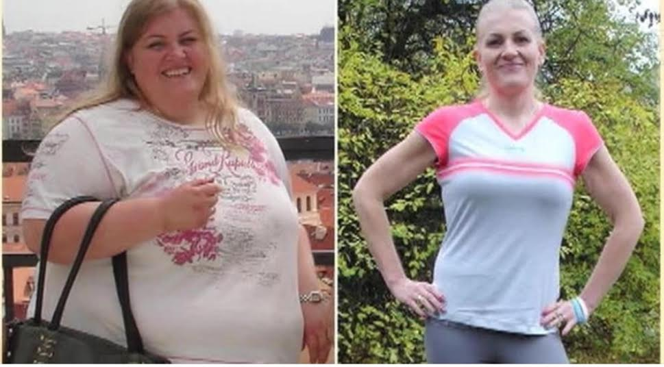 Huge weight loss female