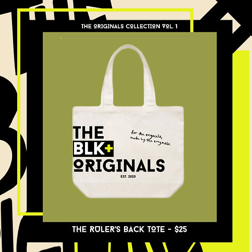 THE RULER'S BACK TOTE