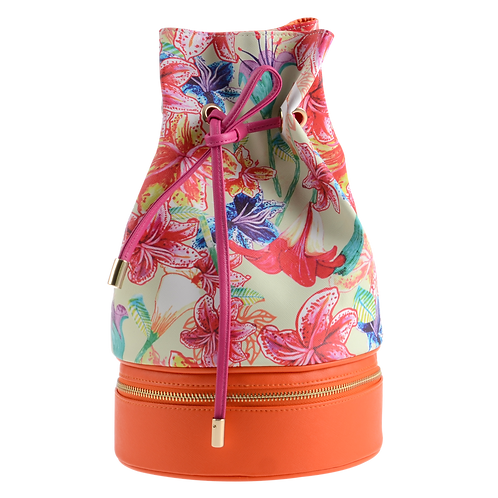 Lily Bouquet Cosmetic Bag