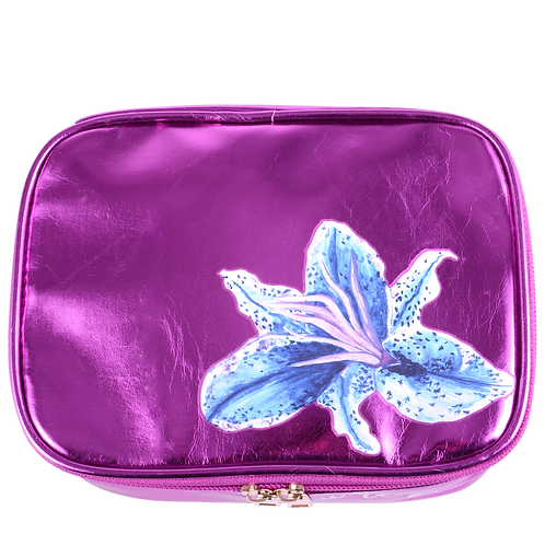 Metallic Lily Bag