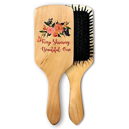 Romantic wooden brush