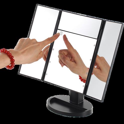 Lighted Desk Make Up Mirror 2 in 1
