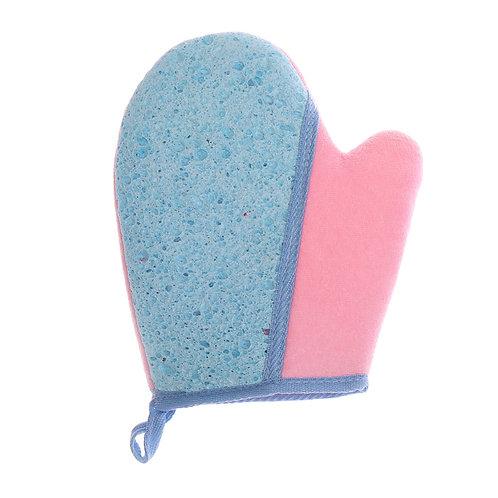 scrubbing glove