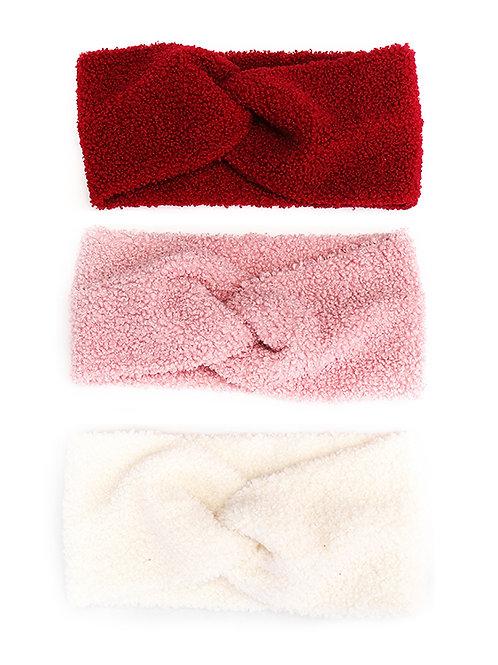 teddy fleece headband