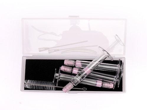 4pcs PETG needle tubing travel kit