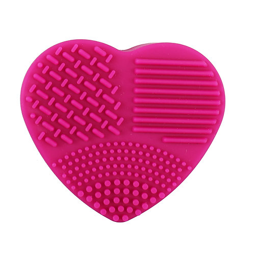 Heart Silicon Brush Cleaner