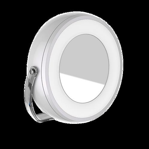 Pettite LED desk mirror