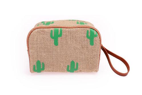2 sizes cactus jute bag
