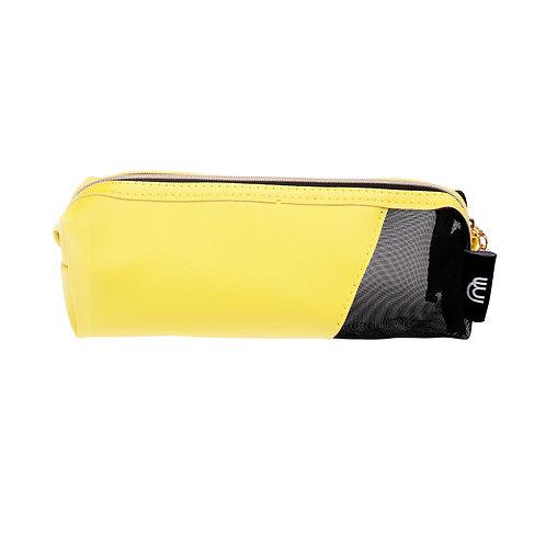Neon Mesh Cosmetic Bag