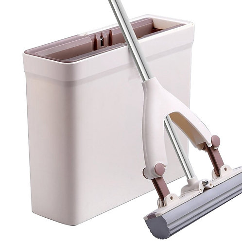Sponge Mop with Plastic Holder & Cover