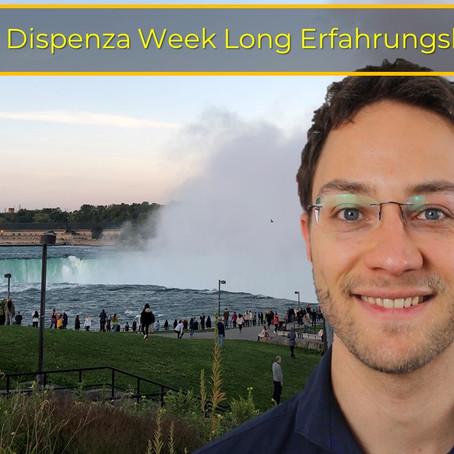 Dr. Joe Dispenza Week Long Erfahrungsbericht