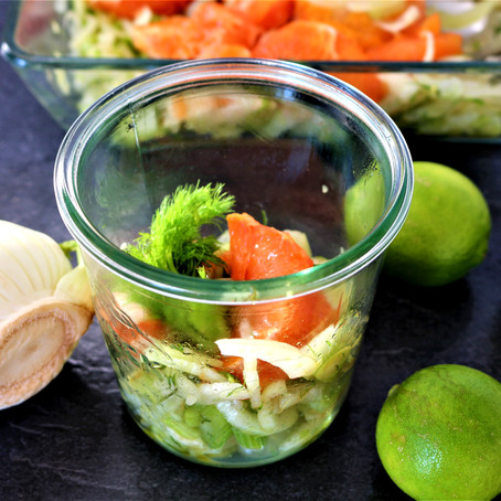 Fenchel - Grapefruit - Salat