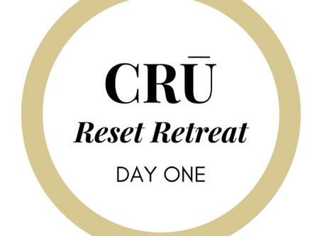 CRŪ Reset Retreat Day 1