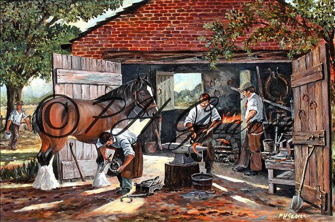 HAF#09 The Village Smithy