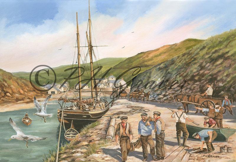 OC#4 Boscastle In The 1800's