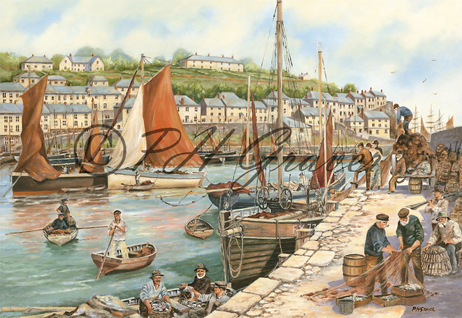OC#3 Mevagissey In The 1800's