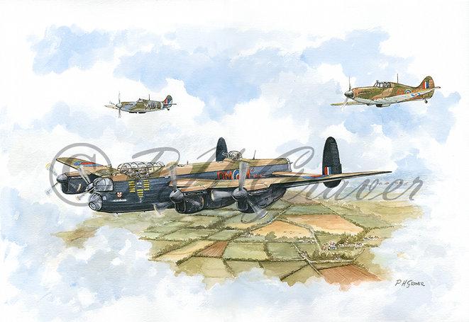 A#05 The Battle Of Britain Memorial Flight