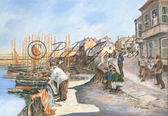 OC#2 Newlyn Harbour