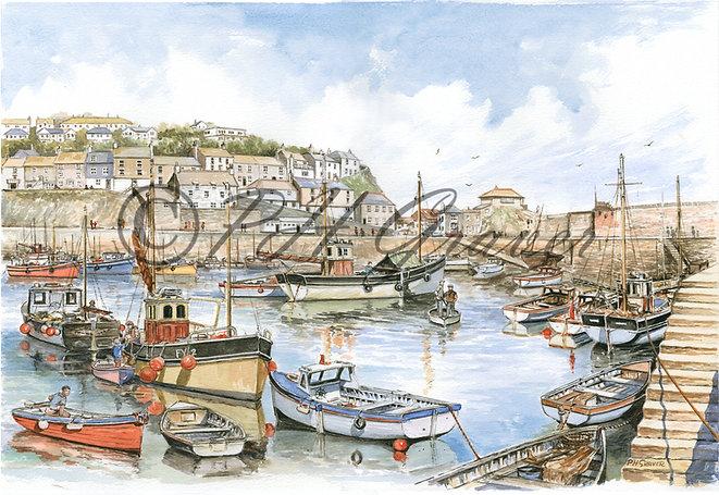 WSS#04 Mevagissey Harbour