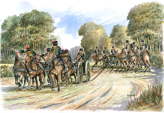 MAT#03 The Kings Troops Royal Horse Artillery