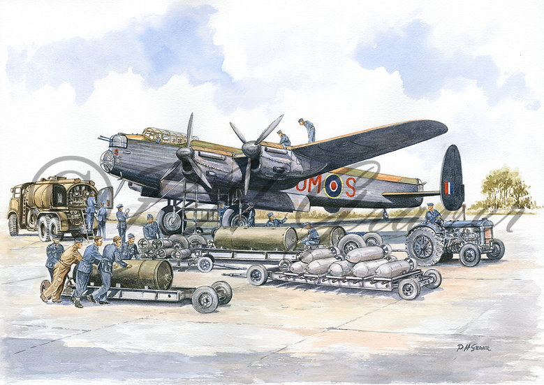 A#04 The Lancaster Ground Crew