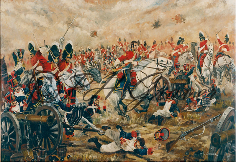 MAT#05 Charge Of The Scott's Greys At Waterloo