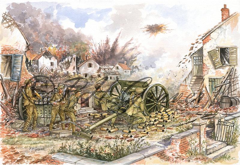 MAT#02 The Royal Artillery At Mons