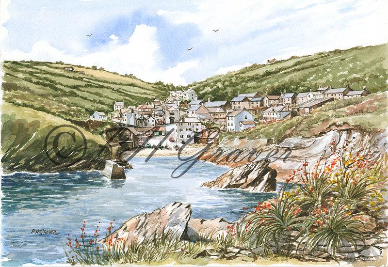 TRP#07 Portloe Harbour