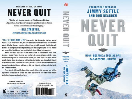 Never Quit --- The Young Adult Edition!