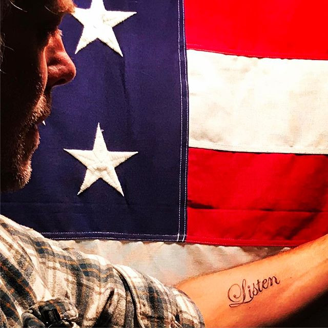 My friend Joe Yelverton's tattoo -- by another friend Roger Sparks