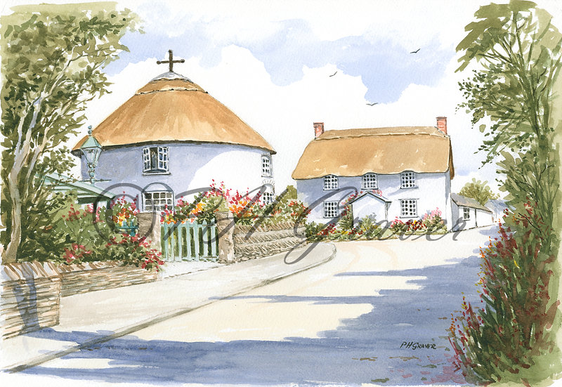 TRP#17 The Round House In Veryan Green