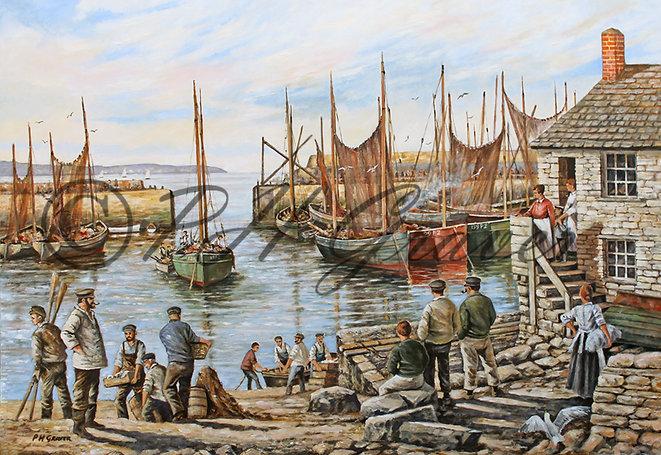 OC#5 Mousehole Harbour