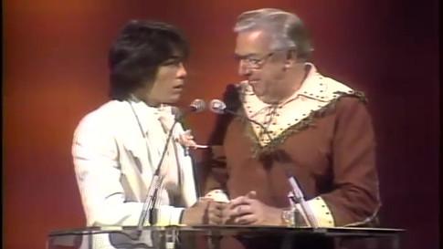 """""""1979 Disco Music Awards"""" - Scott Baio & Buffalo Bob Smith"""